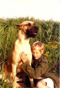 Felix v.d.Schanze und mein Sohn Felix