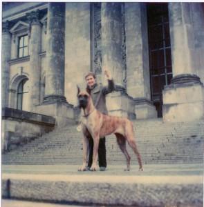 Laila vorm Reichstag 1979